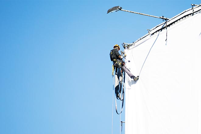 SkyPeople - rope access specialist advertising and promotion