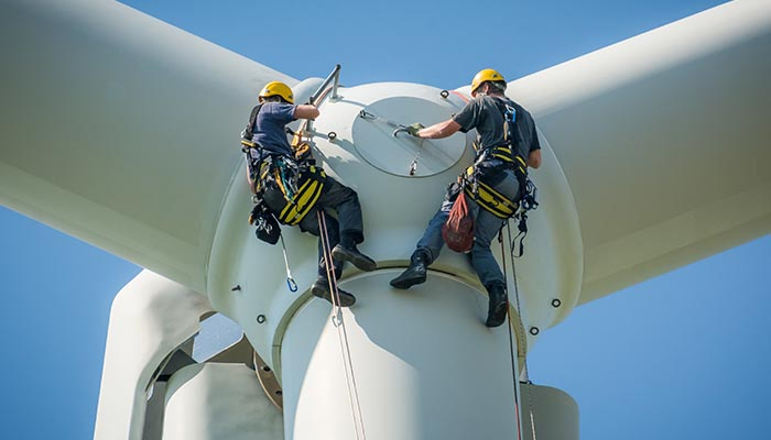 SkyPeople - Rope Access - Windenergie specialists